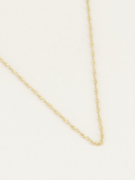 My Jewellery – Twisted Necklace Medium (Goud en Zilver)