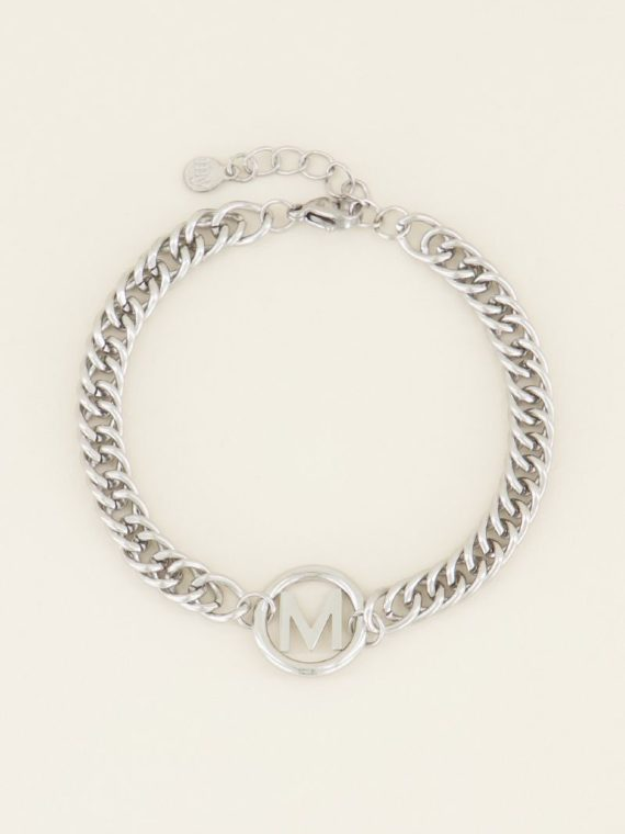 My Jewellery – Armband Chunky Initials Silver