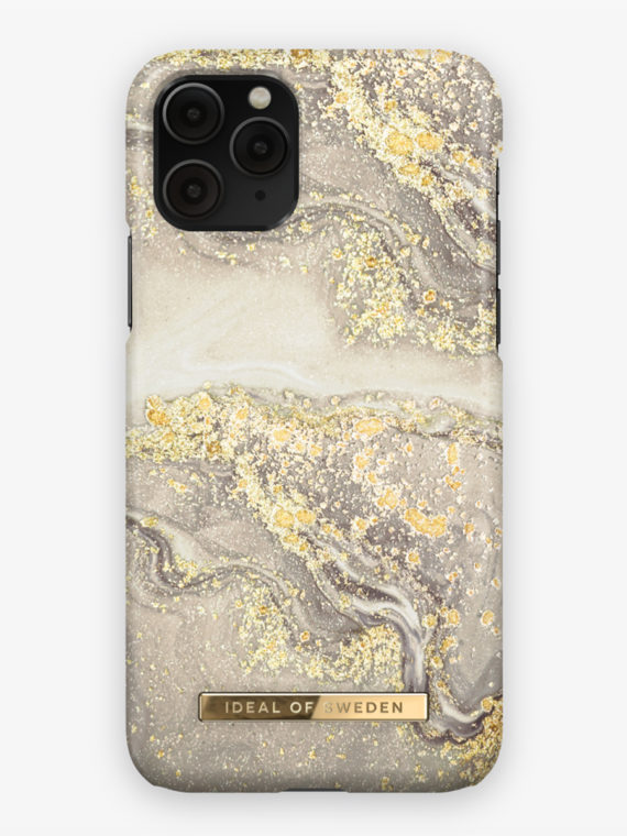 iDeal of Sweden – Fashion Case Sparkle Greige Marble – iPhone 11 PRO/XS/X