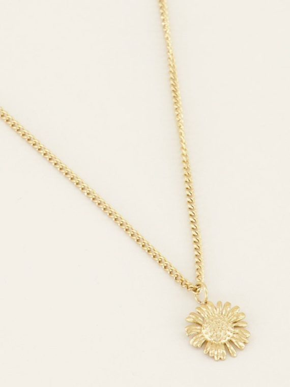 My Jewellery – Ketting daisy (goud of zilver)