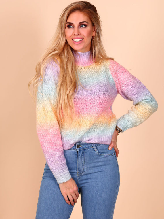 Rainbow Sweater – Pink