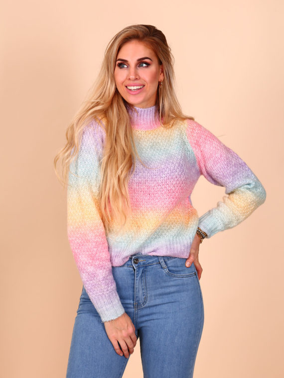 Rainbow Sweater – Pink Rainbow
