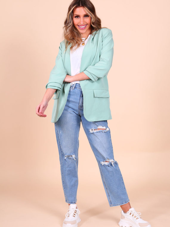 Basic Blazer – Mint