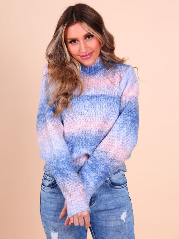 Rainbow Sweater – Blue