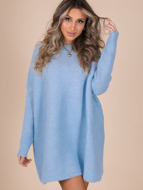 Sweaterdress – Baby Blue