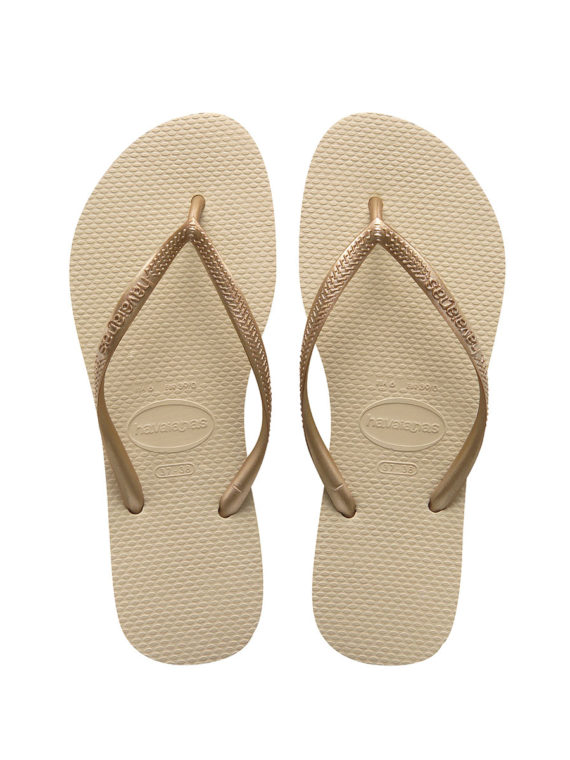 Havaianas Slim – Sand Grey/Light Golden