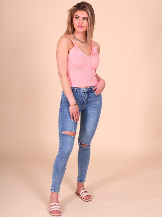 Double Ripped Jeans