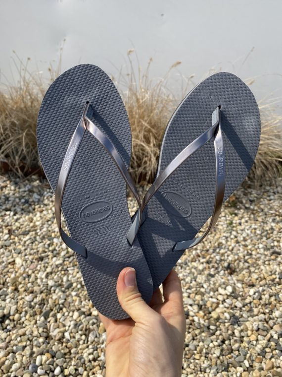 Havaianas You Metallic – Steel Grey