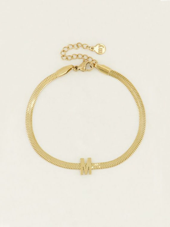 My Jewellery – Armband The New Initial – Goud