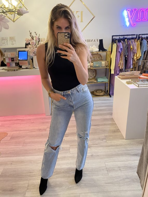 See Straight Jeans