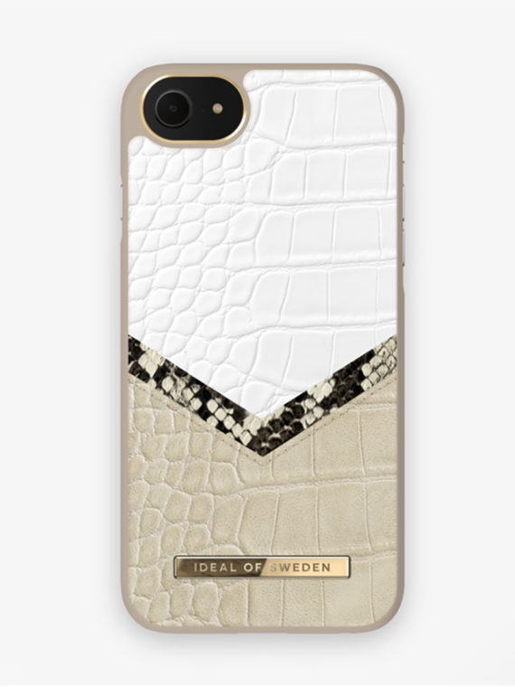 iDeal of Sweden – Dusty Cream Python – iPhone 8/7/6/6S
